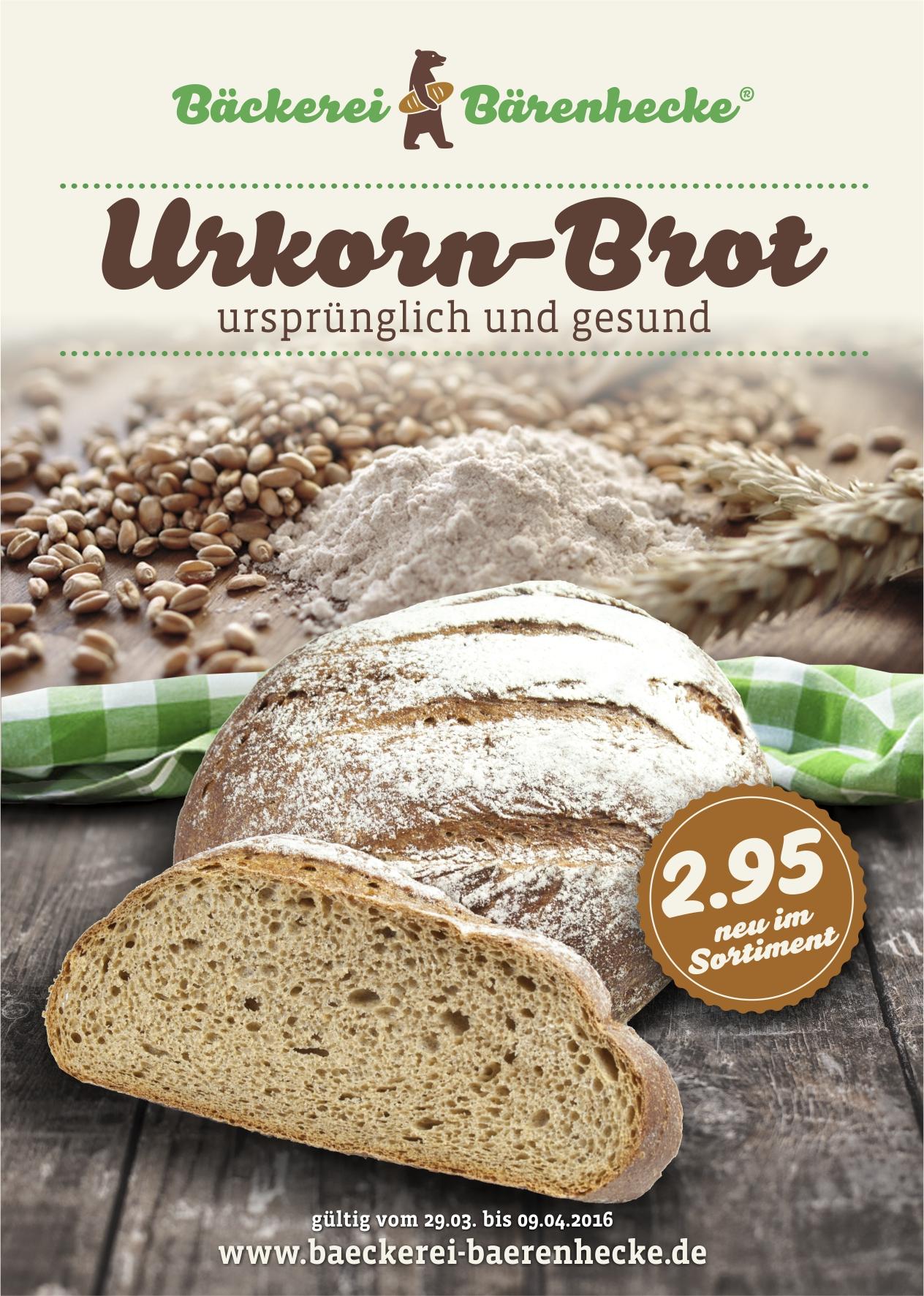 Bärenhecke Urkorn Brot